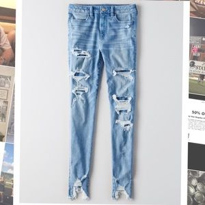 AEO cropped jeggings